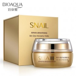 Крем для лица с муцином улитки BioAqua Snail Repair & Brithening, 50 г
