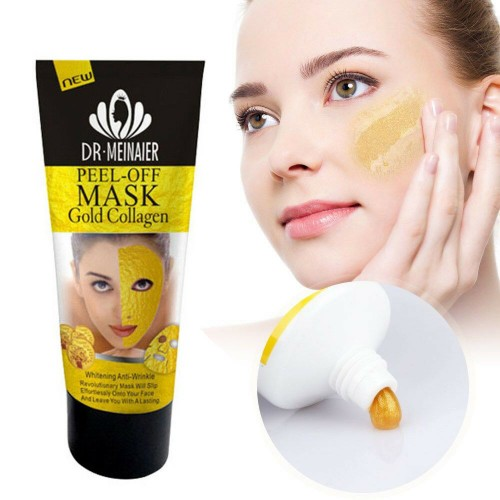 Золотая маска-пленка Pilaten Anti Aging 24K Gold Collagen Peel Off Face Mask, 60/120 гр