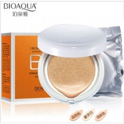 Кушон BIOAQUA Air Cushion BB Cream тон №1 Ivory, тон Ivory white replacement, 1 шт